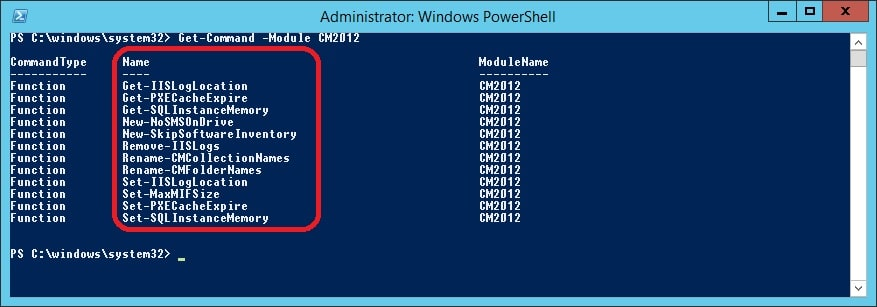 PowerShell Module for ConfigMgr 2012     System Center ConfigMgr