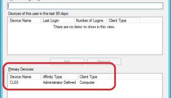 Get Primary User and Device relationship assignment source