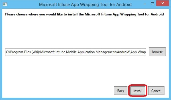 Intune App Wrapping Tool For Macos