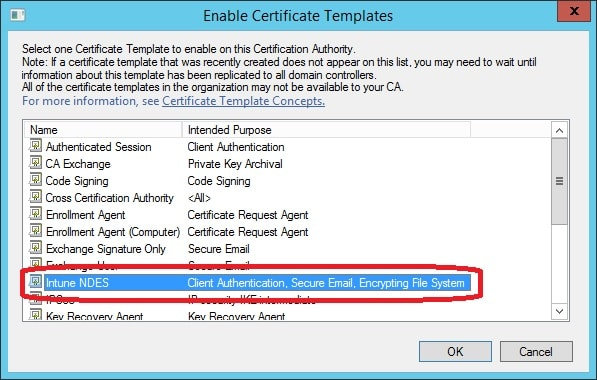 Prepare your environment for SCEP Certificate Enrollment with