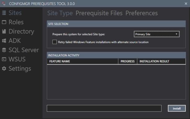 ConfigMgr Prerequisites Tool – Version 3.0.1 released