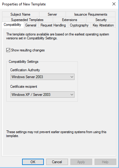 How to setup co management part 2 create certificates system make sure use windows server 2003 not server 2008 if you have certificate services installed in server 2008 yelopaper Image collections