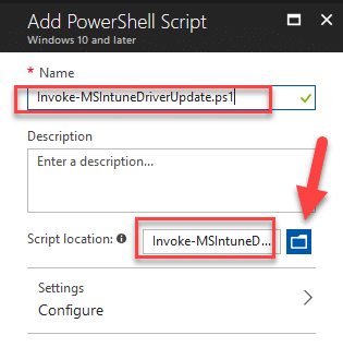 Modern Management – Automating Intune Enrolled Device Driver