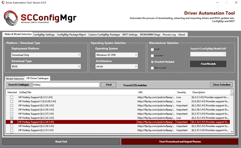 Driver Automation Tool 6 0 0 Released | | System Center