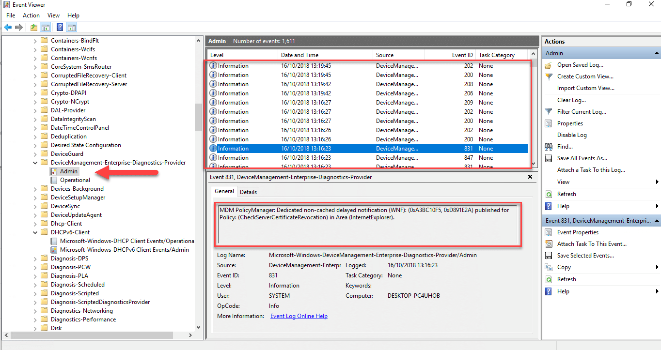 Configure ADMX settings with Microsoft Intune Administrative