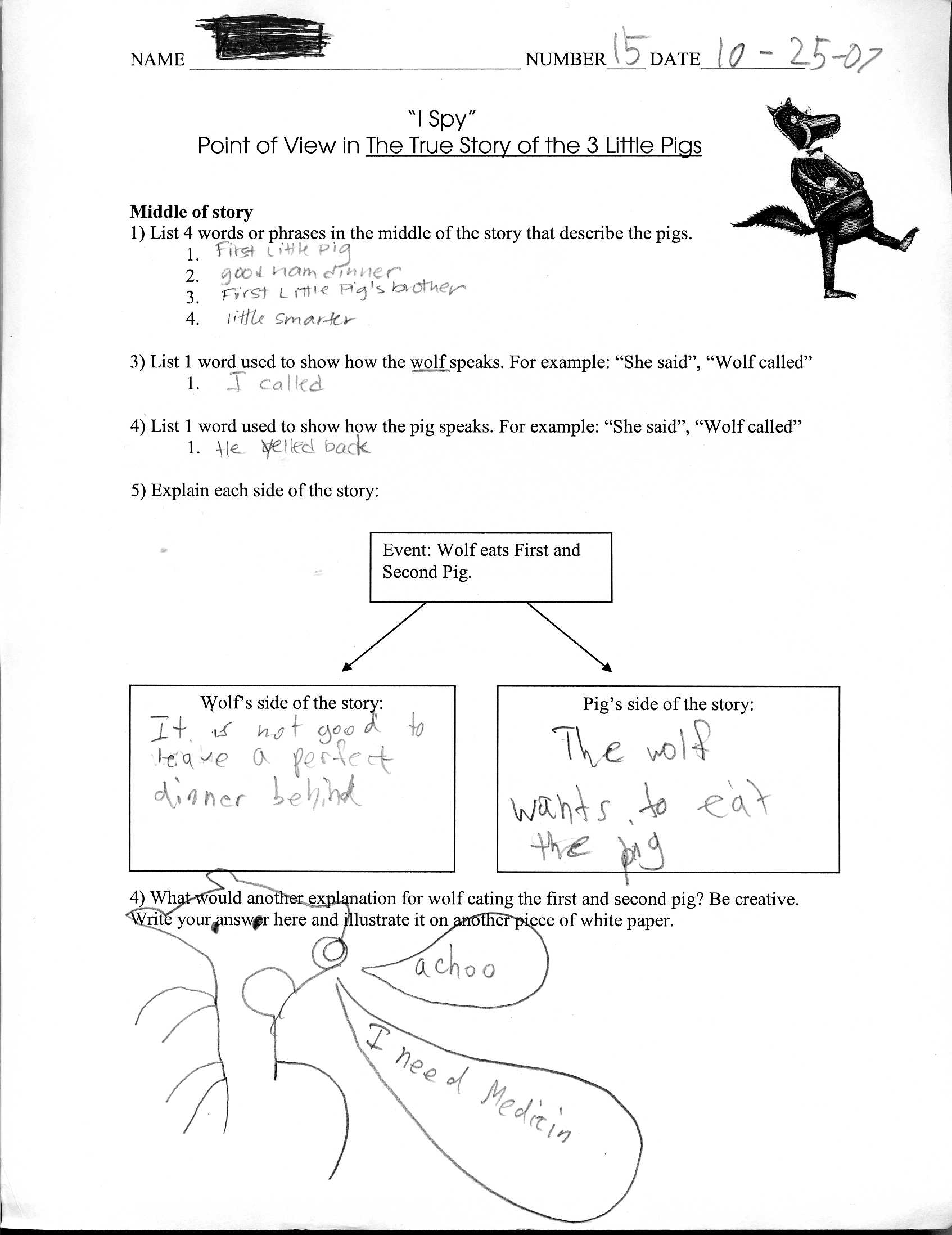 Perspective Worksheet For High School Perspective Best