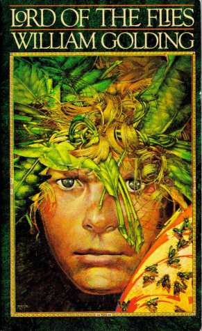 """Dym's illustration teacher was the man who designed this cover of """"Lord of the Flies."""""""