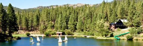 Christian participated in many water activities, including wakeboarding, waterskiing and fishing, at Walton's Grizzly Lodge Summer Camp in Portola, Calif.