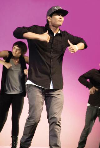 Bennett Lumban dances at the Urban Paradise Showcase.
