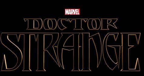 """The """"Doctor Strange"""" logo."""