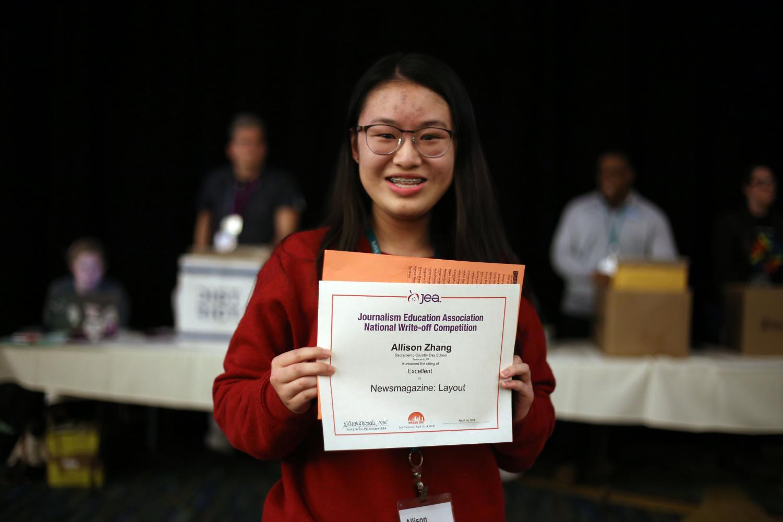Junior Allison Zhang