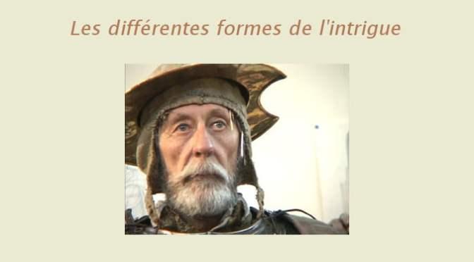 LES DIFFÉRENTES FORMES DE L'INTRIGUE