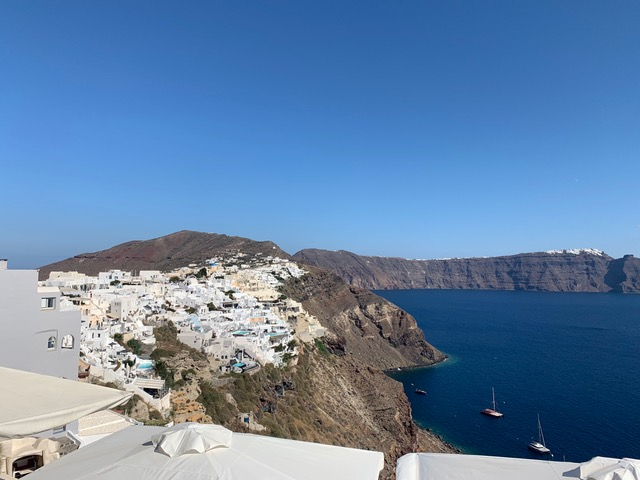 Coast of Santorini, Visiting Greece, Touring Santorini