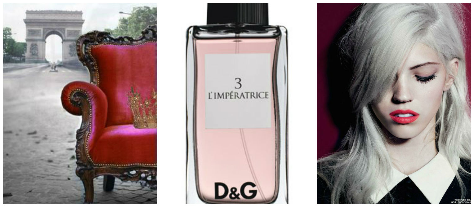 D&G 3 L'IMPERATRICE perfume review