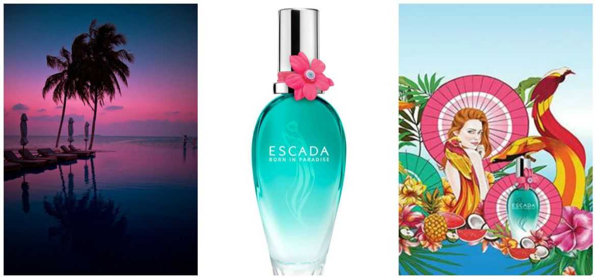 Escada Born In Paradise Perfume Review