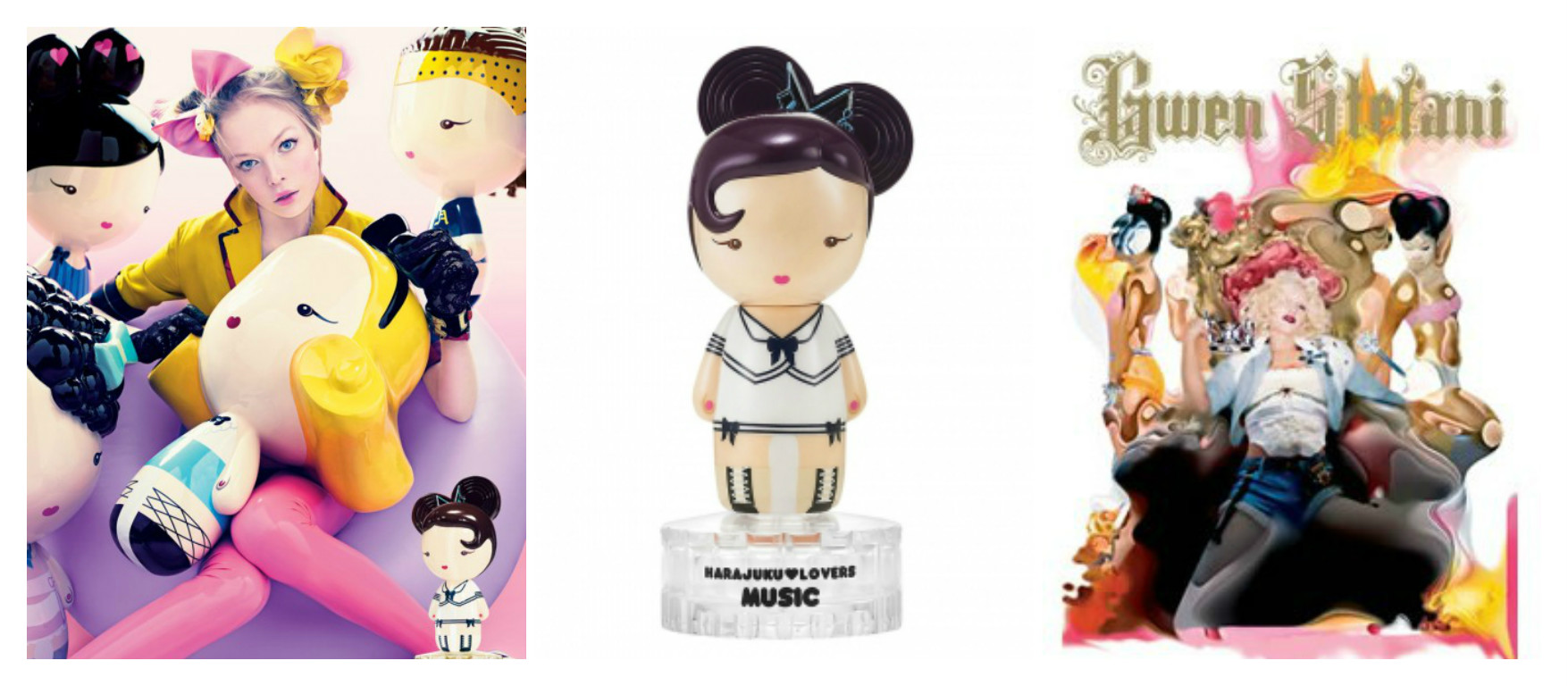 Perfume of the Day: Music by Harajuku Lovers