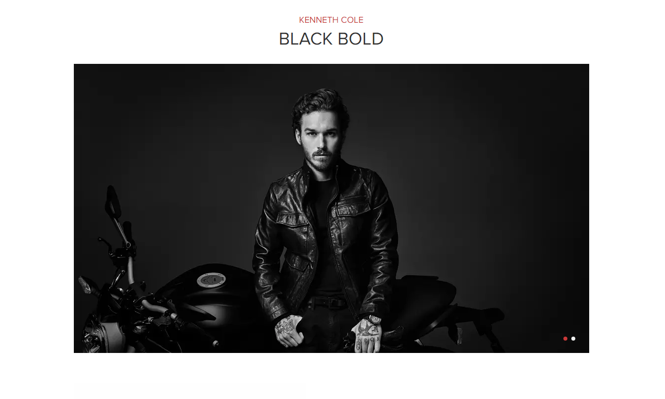 March Cologne of the Month: Black Bold by Kenneth Cole