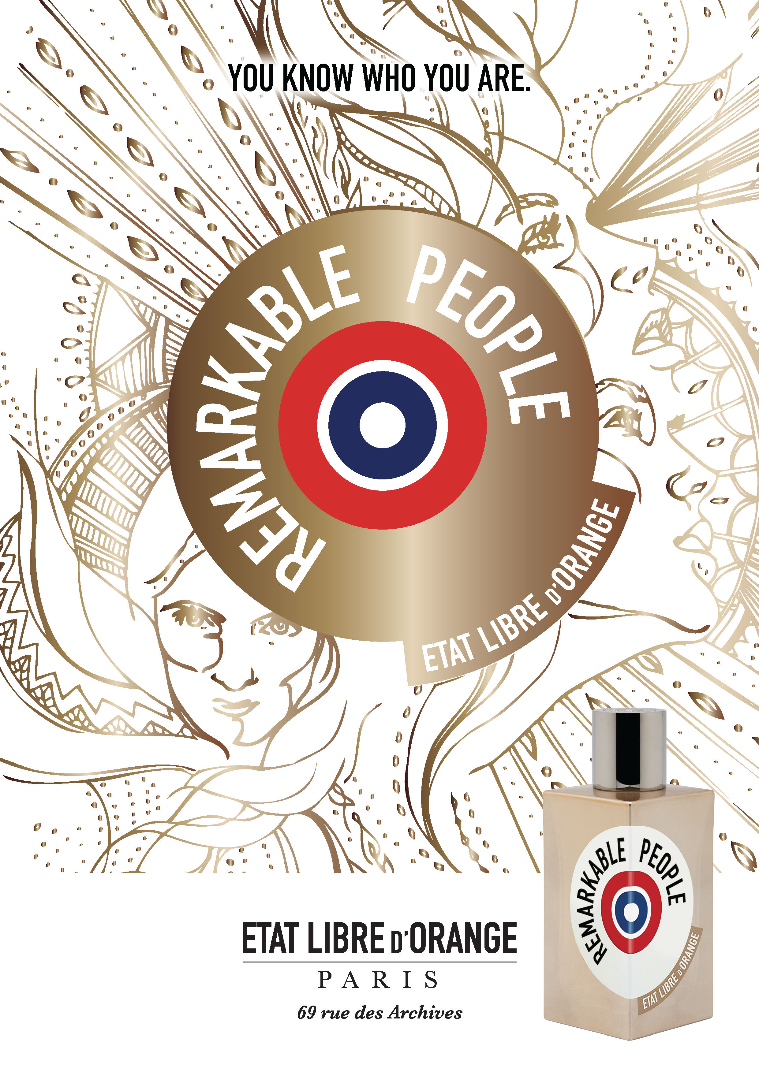 Your Scent Resolution for 2018: Remarkable People by Etat Libre d'Orange