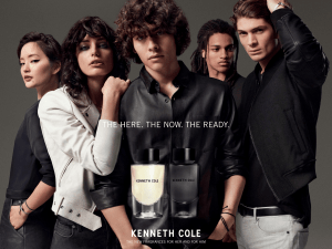 Kenneth Cole for Him and Kenneth Cole for Her fragrances