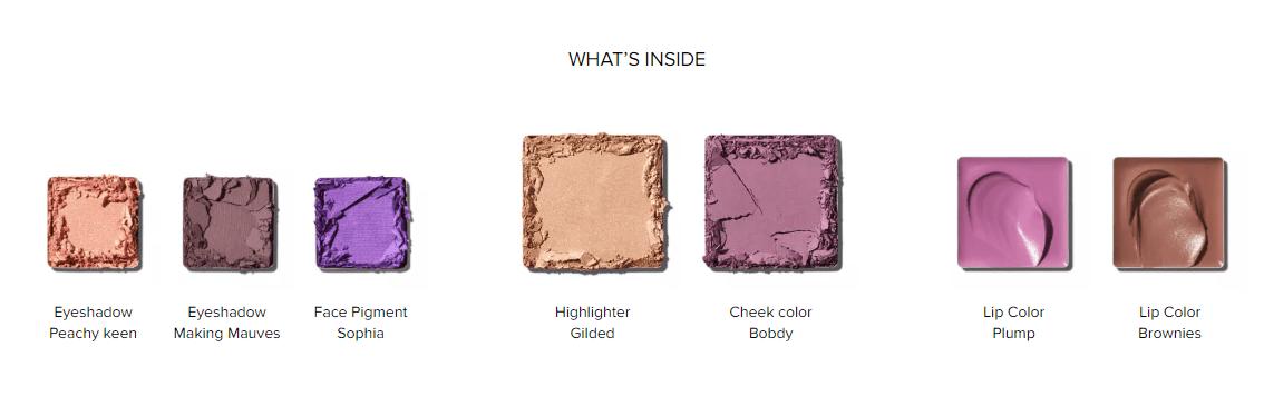 Violet Rebel Makeup Palette 02 Full