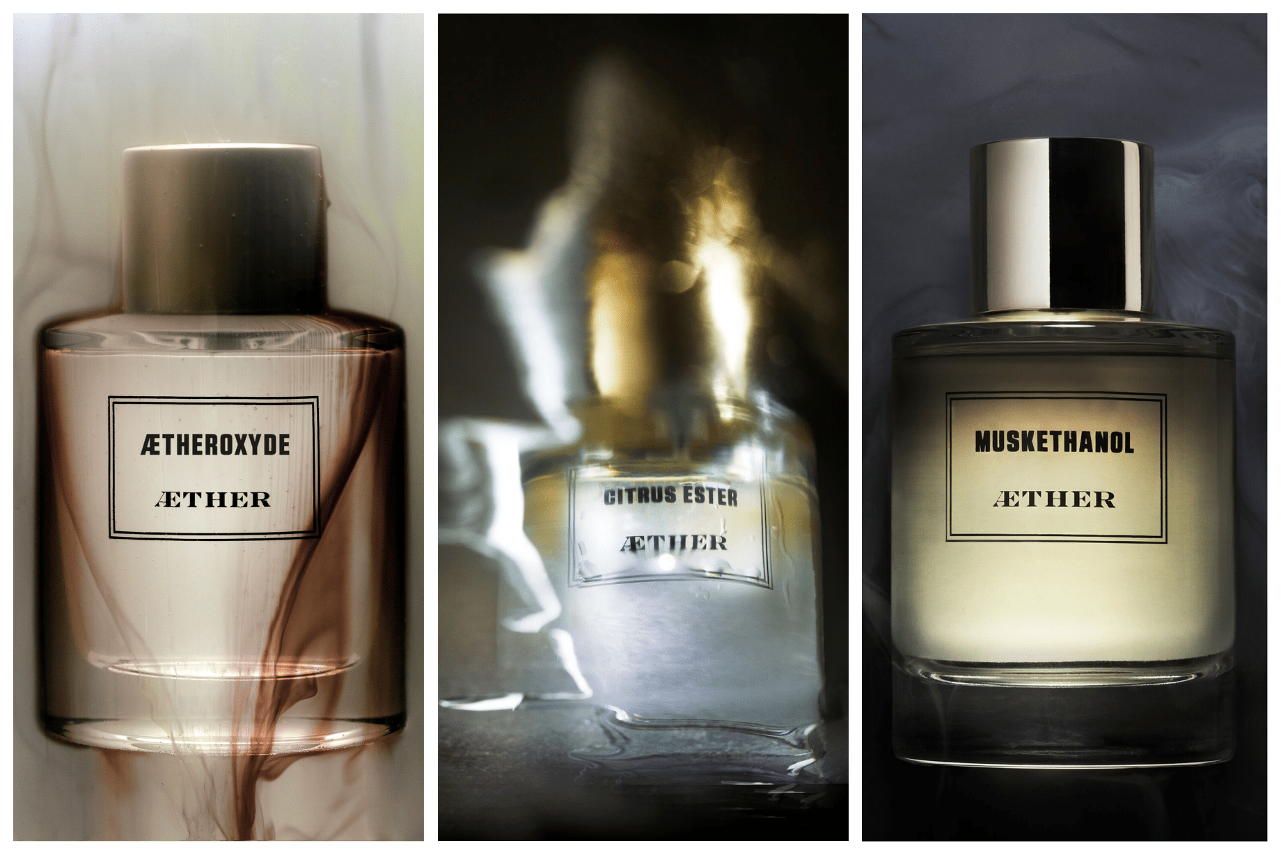 Synthetic Perfume Artistry from Aether Parfums