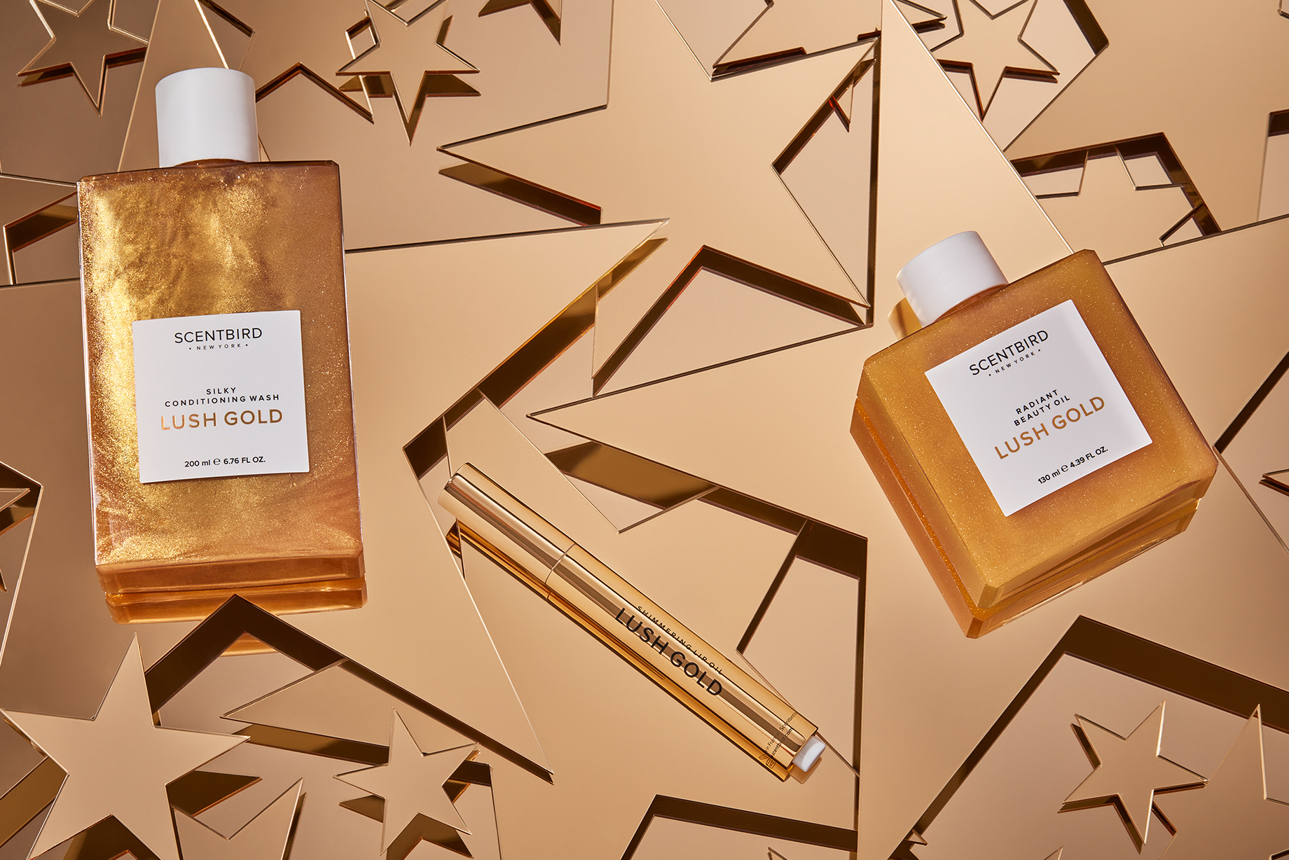 SCENTBIRD's 2018 Holiday Gift Guide: LUSH GOLD Collection