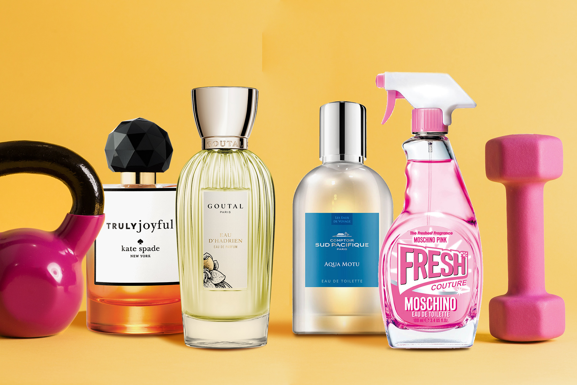 Kick-start Your Workout Plan With These 4 Uplifting Fragrances