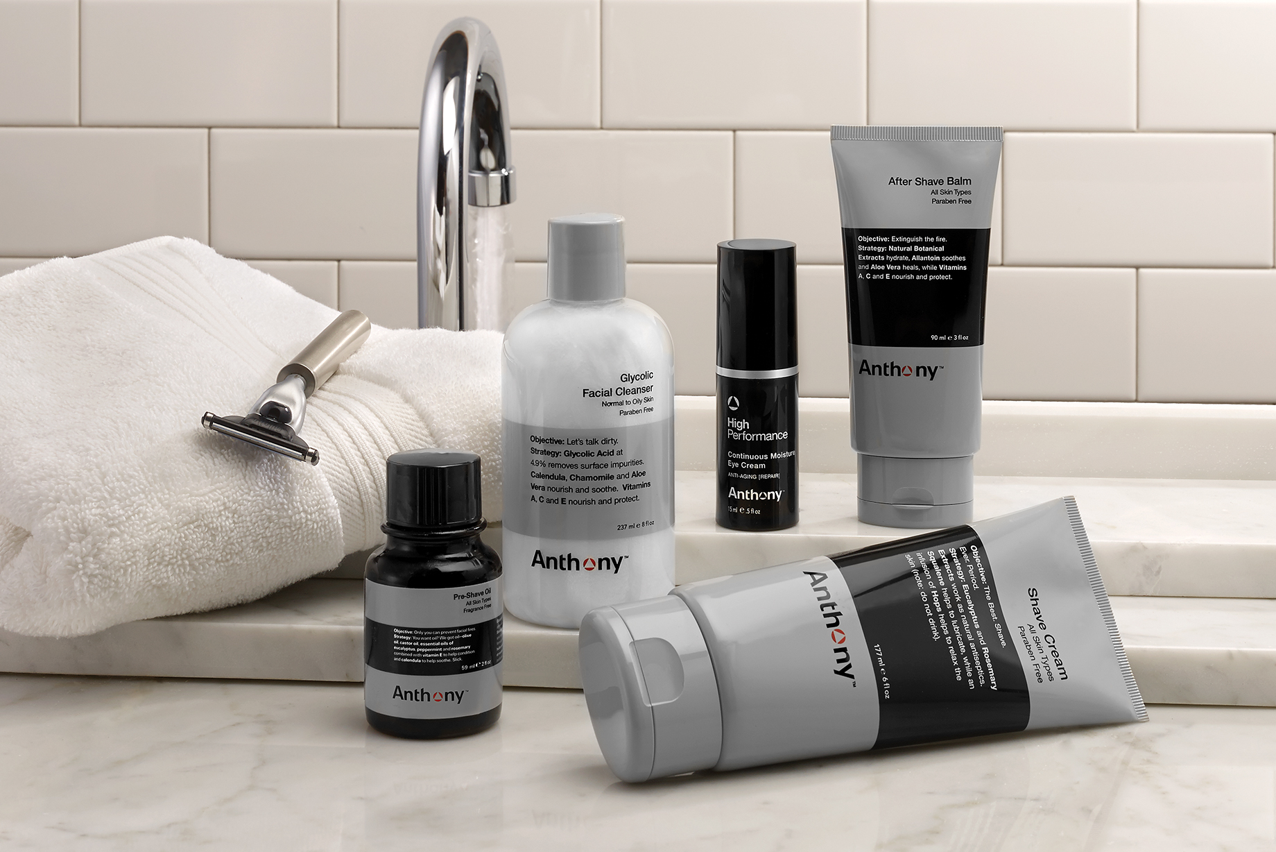 On Our Radar: Anthony Men's Skincare Brand