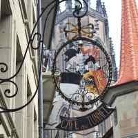 【スイス】大聖堂だけじゃなくアートな看板たっぷりな落ち着いた街並みフリブール