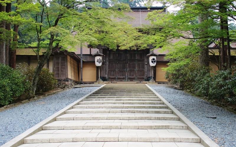 【和歌山】高野山 庭園が見事な金剛峯寺