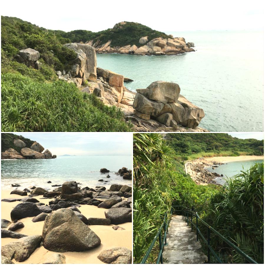 cheung chau island coastline