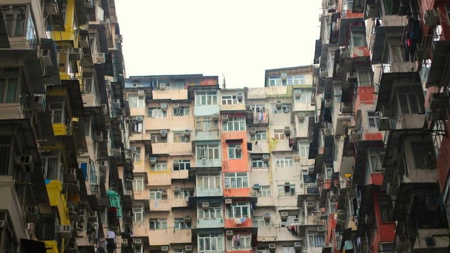 【香港】衝撃的!超密集アパート写真を撮りたい人必見です(位置情報つき)