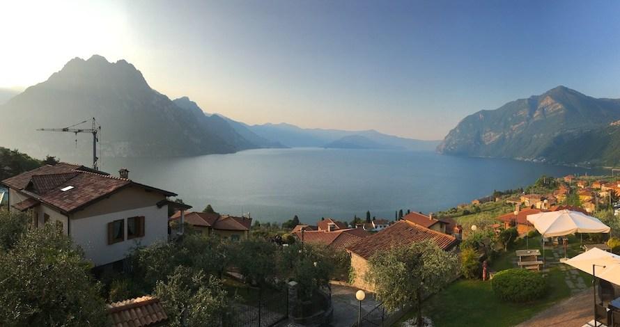 【イタリア】物静かなイゼオ湖はリラックスに最適です
