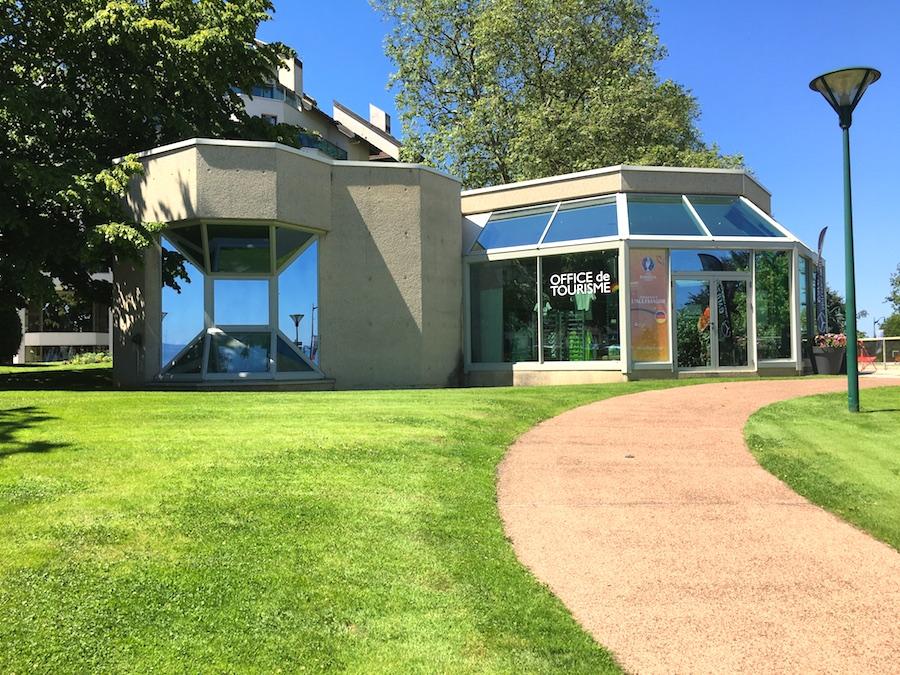 tourist office evian