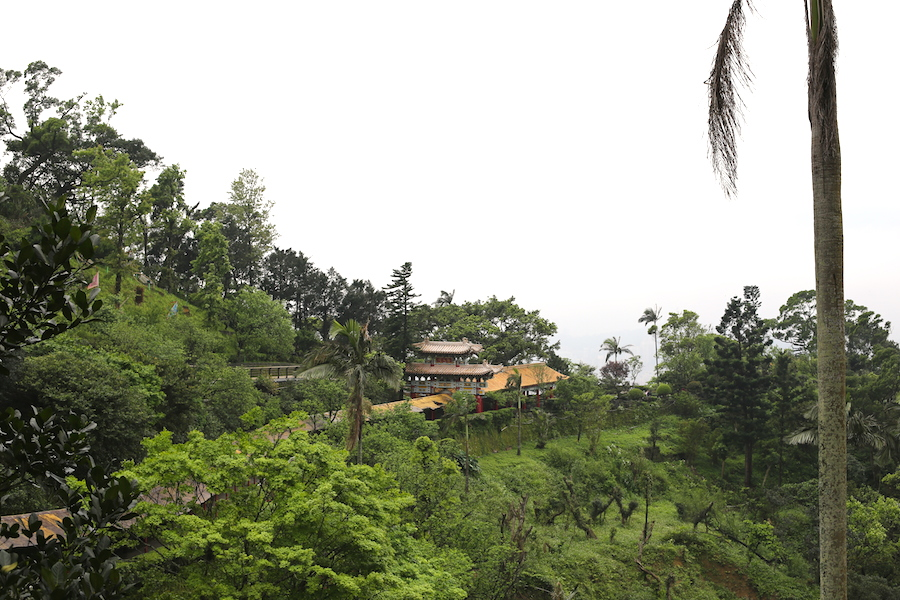 view from zhinan temple