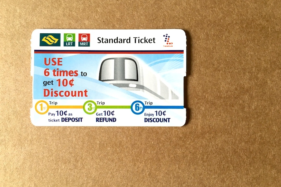 spore mrt ticket