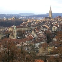 【スイス】世界遺産の首都ベルンは遠景が特に美しい(写真集編)