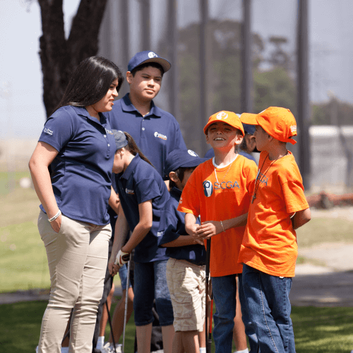 SCGA Junior Members Give Back