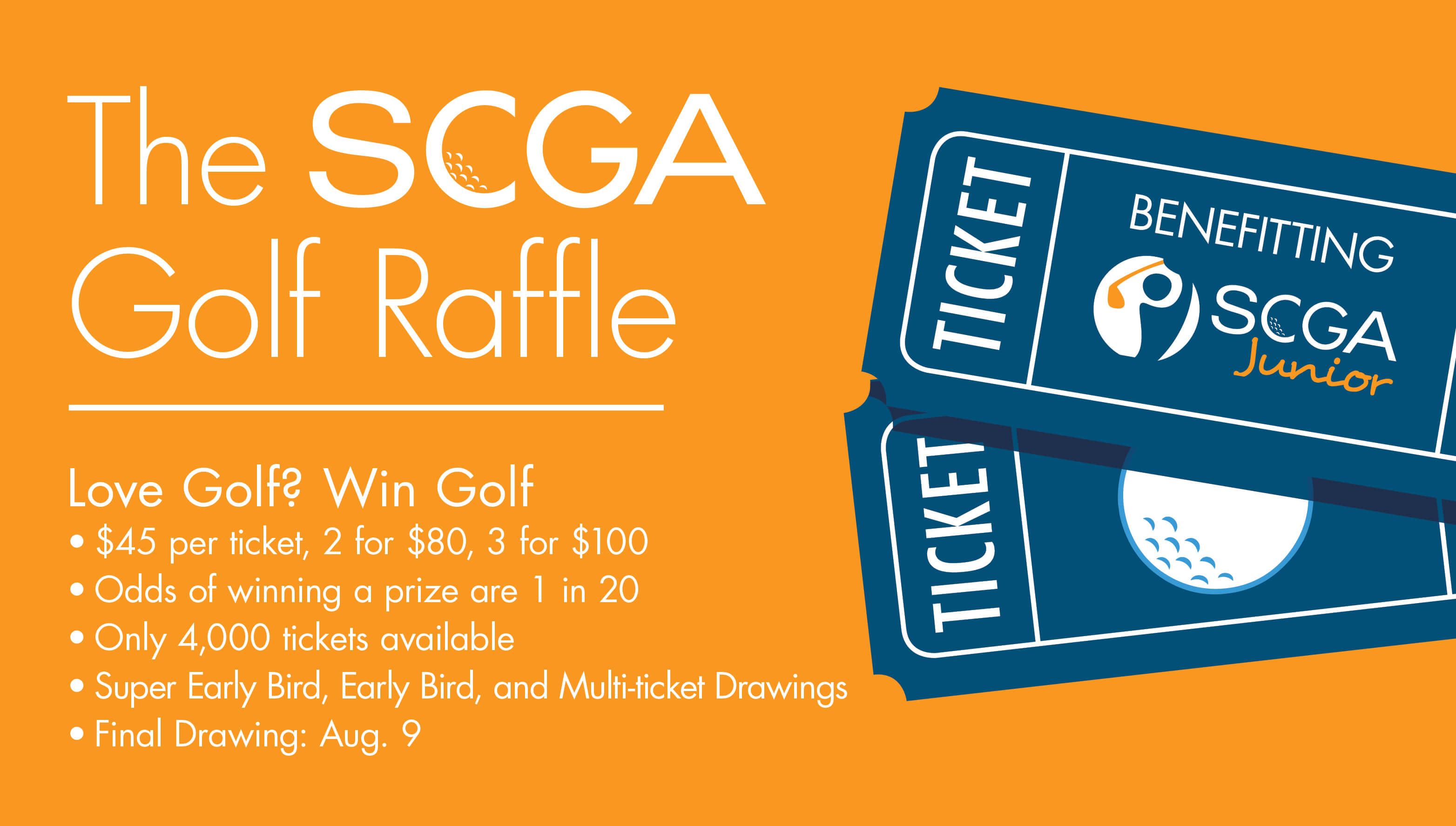 scga golf raffle scga junior great golf raffle web v1