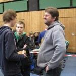 Turnierleiter Thorsten Fischer im Gespräch