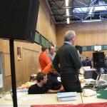 Schulleiter Jochen Paustian spricht Eröffnungsworte