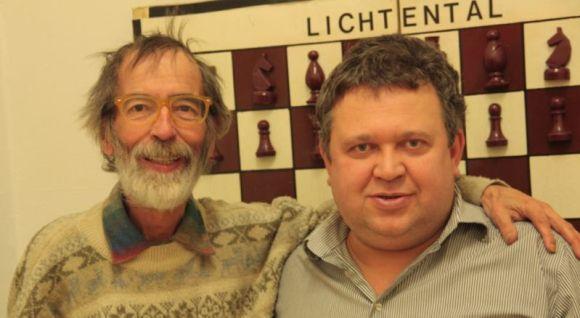 Ferdinand Bäuerle (li.) und Nikolaus Sentef