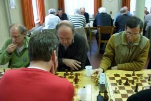 Auch Dirk Möller, Thomas Bachmann und Klaus Körting sorgten für spannende Kämpfe und eine gute Stimmung!