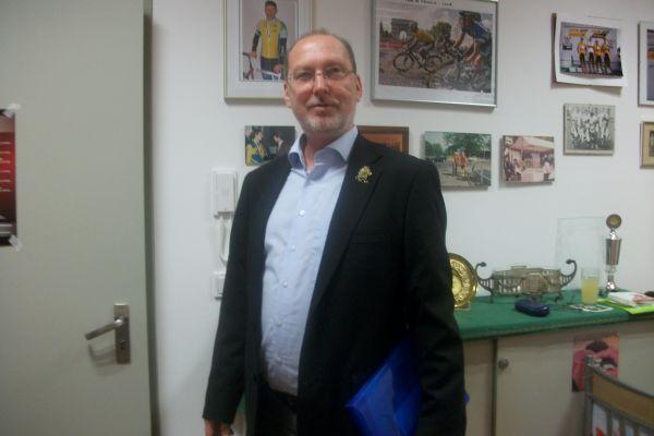 Auch der Vizepräsident zeigte sich: Martin Sebastian.