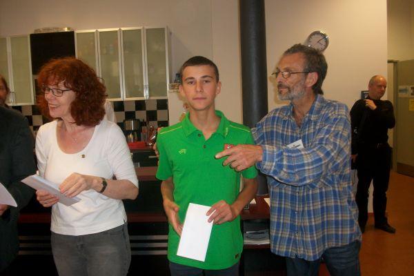 Da sein Bruder die höherwertige dritte Ratingkategorie gewinnen konnte, bedeutete dies für Jonas Sidabras Platz 2 in der Jugendwertung!