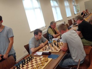 Yannick Kather gegen Vitalij Major