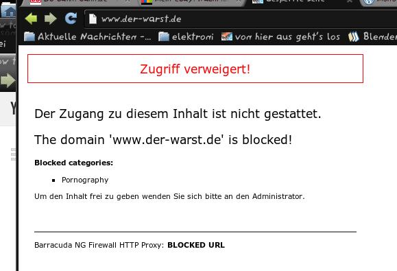 der-warst.de has been blocked