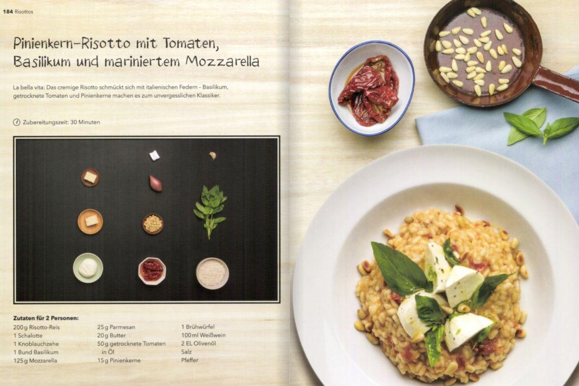 Rezeptinnenseite Lust auf Kochen Dorling Kindesley Verlag Kochhaus