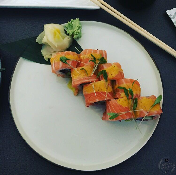 Sticks'n'Sushi Sushi Salmon Ceviche Lachs Koriander Berlin Zitrone