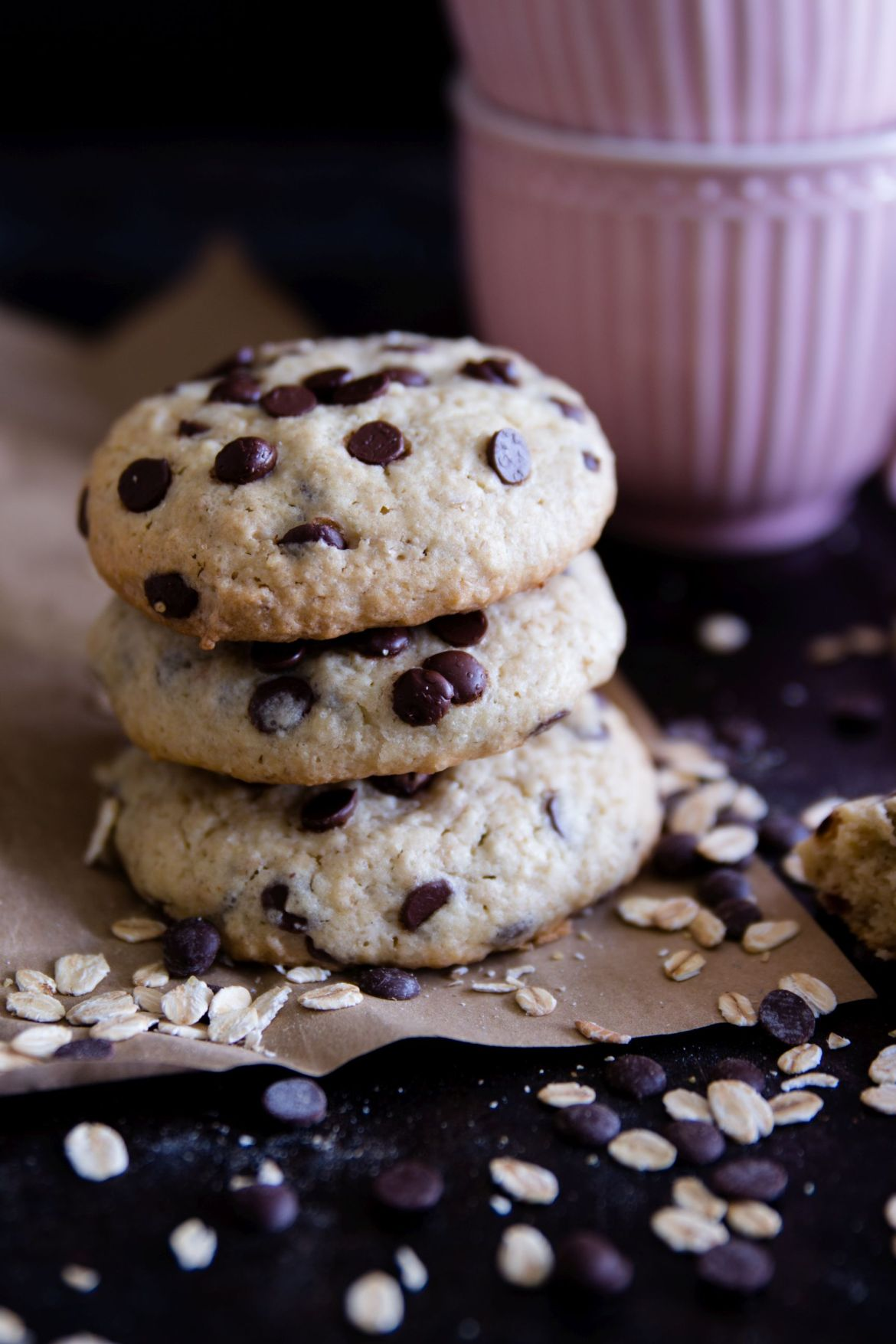 Oatmeal Coconut Chocolate Cookies
